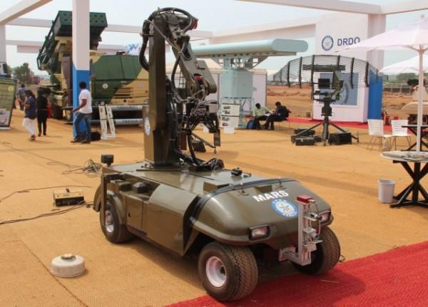MARS, conçu pour la lutte contre les IED et mines, et pour le transport d'objets dangereux (Crédit photo: FOB)