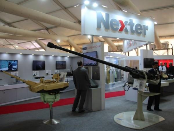 """Les produits estampillés """"Nexter Systems"""" progressent dans trois directions en Inde (Crédit photo: FOB)"""