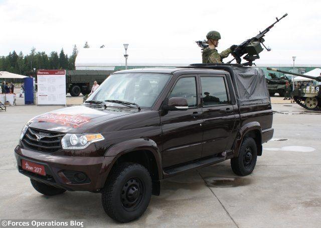 Le pick-up UAZ, un nouveau-venu dans le parc motorisé russe