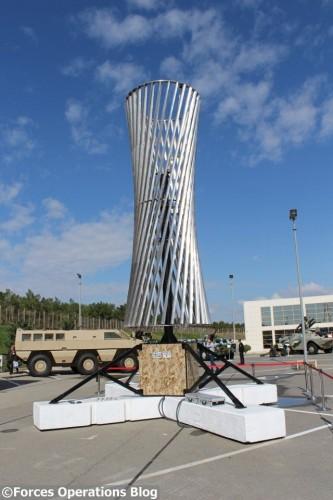 L'éolienne verticale dévoilée par les ingénieurs du russe ATOM