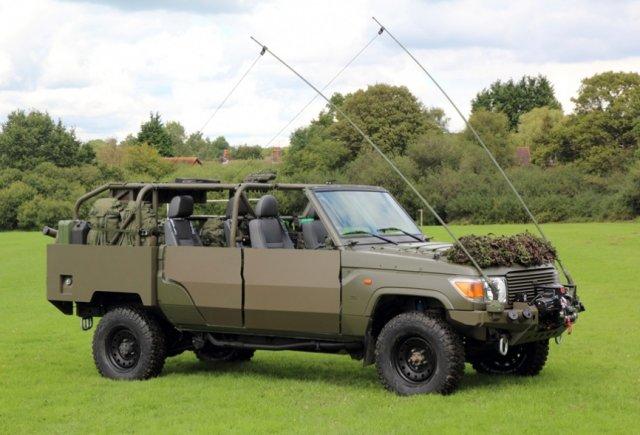 Jankel livrera dès 2016 108 Fox Rapid Reaction Vehicles aux forces armées belges