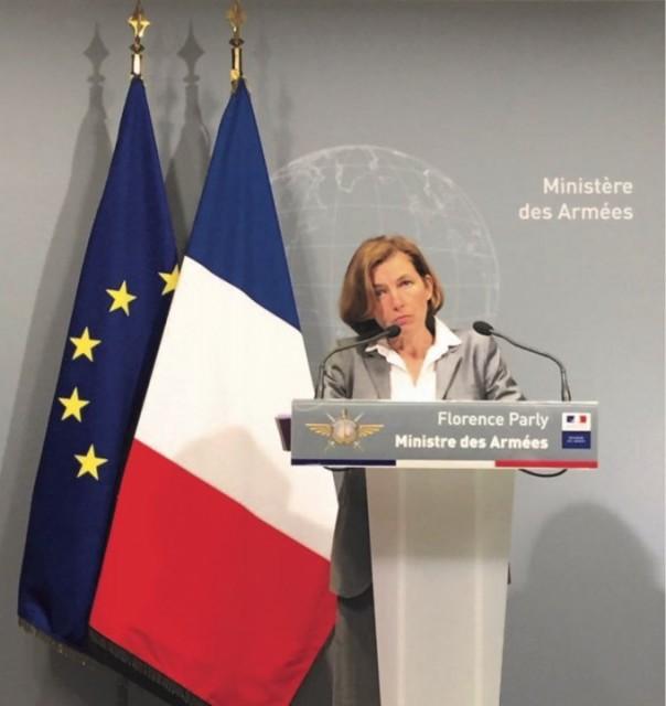 Florence Parly, ministre des Armées (photo : ministère des Armées)