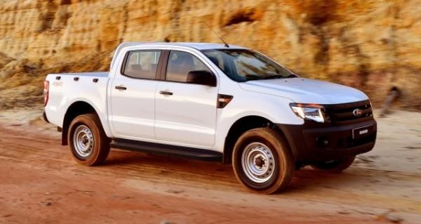 L'armée de Terre a reçu ses premiers 4x4 Ford Ranger XL