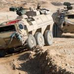 Deux véhicules Fuchs déployé au Mali (Crédit: Rheinmetall)