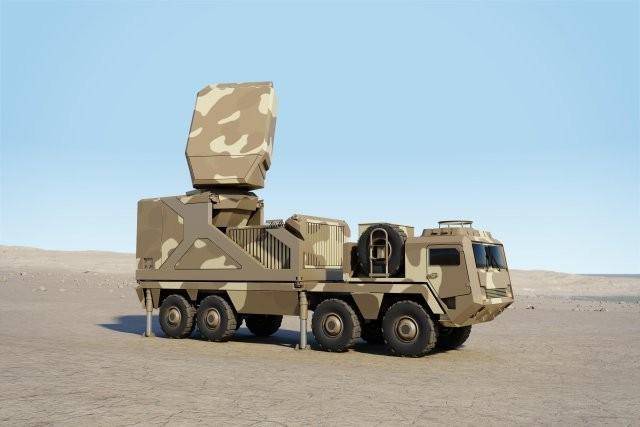 Voici à quoi ressemblera le futur radar Ground Fire de Thales (Crédit: Thales)