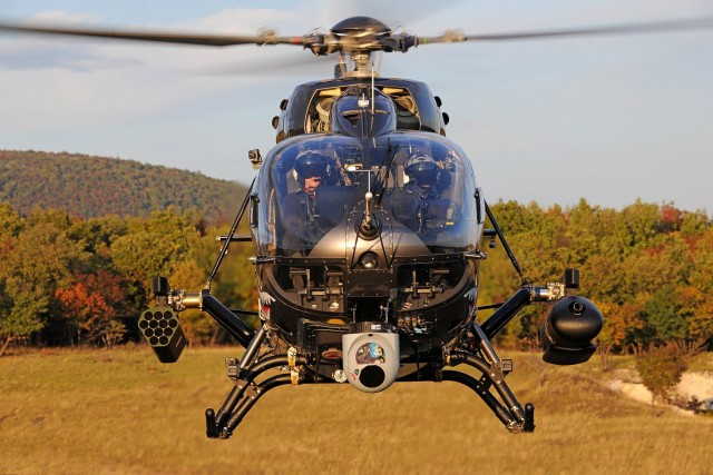 Le H145M (Crédits : Airbus Helicopters)