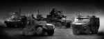 """Le """"parc Scorpion"""", à nouveau grand bénéficiaire du budget des Armées (Crédit photo: Nexter)"""
