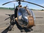 """Une Gazelle """"Gatling"""" du 4e RHFS, présentée à Pau jeudi dernier"""