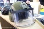 Le casque Zenturio équipé de visière VPAM-6, solution proposée par Unitive aux unités spéciales françaises