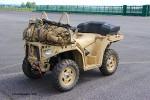L'un des quads Sportsman MV850 actuellement évalués par le 1er RPIMa