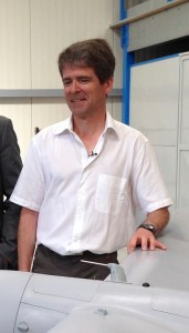 Eric Rantet, propriétaire et chef d'entreprise d'Aviation Design (crédit photo: Christina Mackenzie)