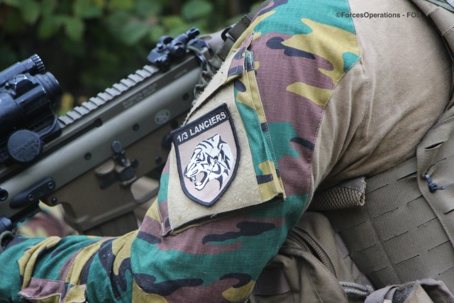 Le bataillon 1/3 de Lanciers, fer de lance du SGTIA belge déployé pour Celtic Uprise 2019