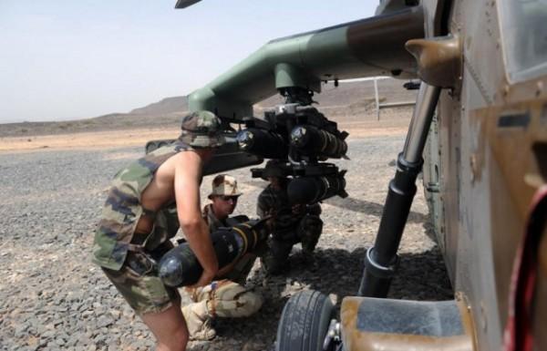 Le Tigre HAD lors de son expérimentation dans le désert djiboutien (Crédit: EMA / armée de Terre)