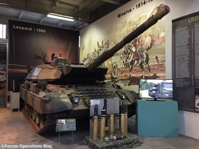 Le Leopard 1A5 Mexas