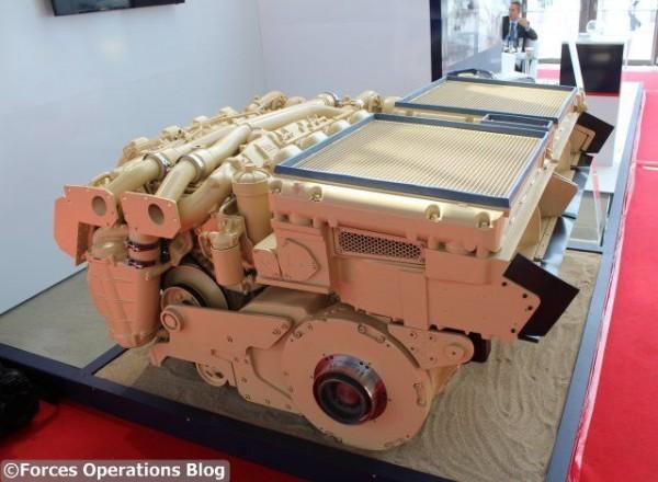 Renk France dévoile son Powerpack 350S à MSPO 2015