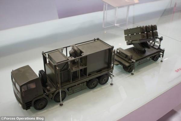 Le système de défense aérienne SPADA 2000 de MBDA