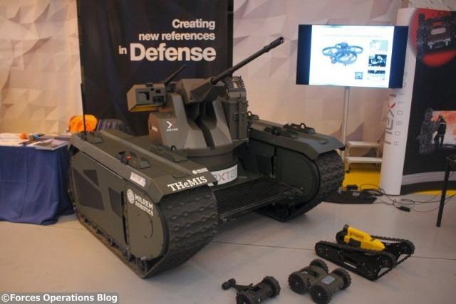 L'OPTIO X-20, un concept aujourd'hui, un adjoint essentiel au combattant demain