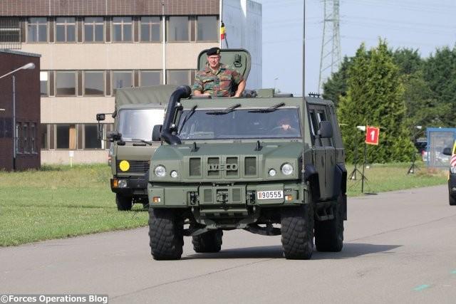 L'un des 437 Lynx LMV utilisés par la Défense belge