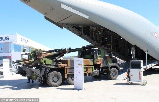 Le CAESAR de Nexter, future colonne vertébrale de l'artillerie belge?