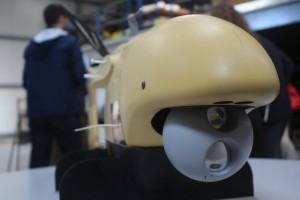 La Spy'Ball, condensé de technologies réalisé par MERIO (Crédit photo: Nathan Gain)