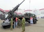 """Le Caesar de Nexter équipe l'armée indonésienne à sa plus grande satisfaction. Cet obusier automoteur était l'une des """"stars"""" d'IndoDefence 2018 (Photo : Forces Operations)"""