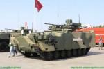 Le véhicule de combat d'infanterie Kurganets-25 exposé près de Moscou en 2017 (Photo : Army Recognition)