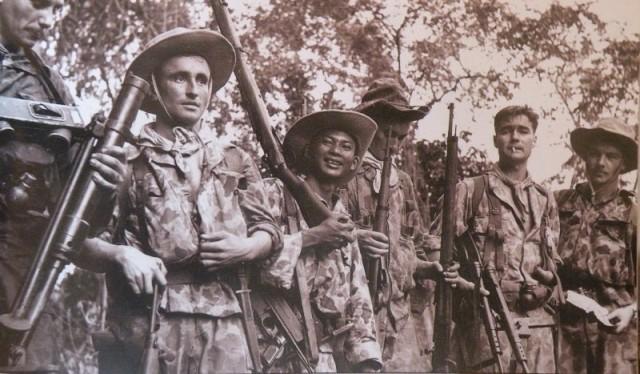 En Indochine, la Légion comptait beaucoup de soldats allemands (réguliers de la Wehrmacht, anciens SS allemands ou étrangers). Le recrutement d'étrangers dans la Bundeswehr serait un retour intéressant sur l'Histoire (photo: ECPA).