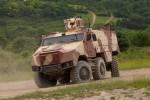 Un véhicule blindé 6x6 TITUS conçu par Nexter (Crédit: Ministère de la Défense tchèque)
