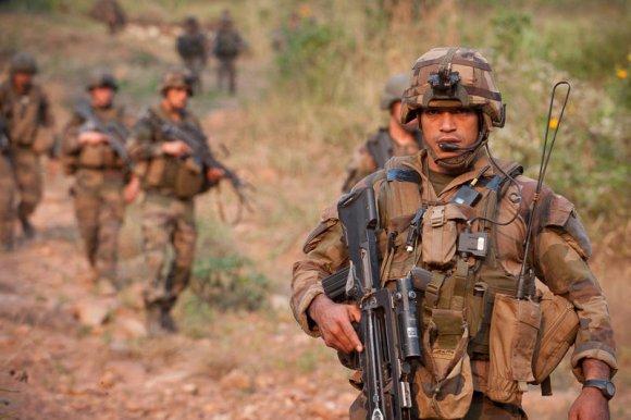 Les forces terrestres conservent un rôle stratégique primordial  (Crédit photo : 2e REP, ministère des Armées)