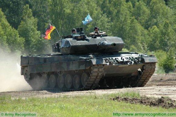 Leopard 2A5 de la Bundeswehr. Le manque de pièces de rechange constitue une préoccupation croissante pour le taux de disponibilité des chars (Photo : Army Recognition)