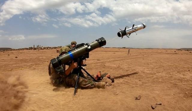 Campagne de tir à Djibouti pour valider l'aptitude de ce missile antichar à être utilisé en ambiance désertique (Photo : ministère des Armées)