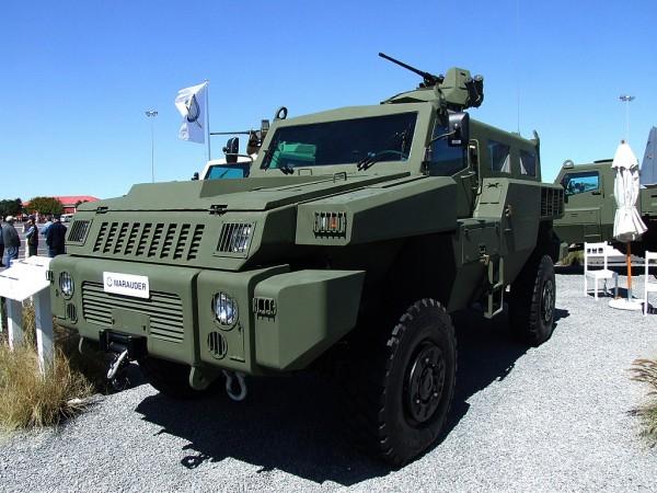 Le nouveau véhicule kazakh sera basé sur ce Marauder sud-africain