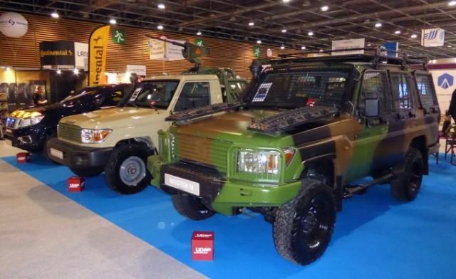 Technamm Masstech T4 et Masstech Recamp, deux achats inattendus de l'armée française (Photo: FOB)