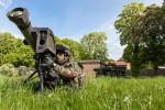 Un missile MMP et son poste de tir (Crédit: MBDA)