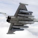 Le missile de croisière Scalp sur Rafale (crédit: Armée de l'air)