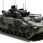 Le futur Scout Specialist Vehicle équipé de sa tourelle CT 40 de 40mm