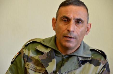 Le général Soriano, commandant l'opération Sangaris (DR)