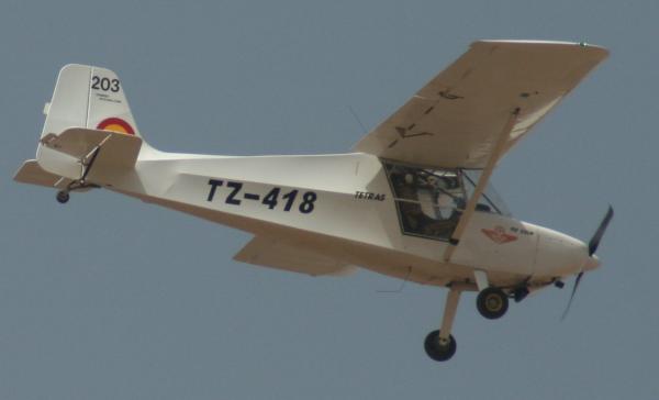 Avion de reconnaissance Tetras Crédits: G Belan