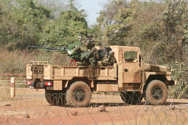 Le VLRA monté d'un canon de 23 mm crédits: G Belan