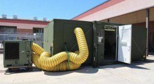 Le container X-FAB (Crédit photo: USMC)