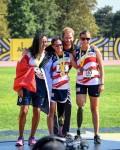 Sabrina Dallas, médaillé d'or avec SAR le Prince Harry et (crédit photo: IG 2017)