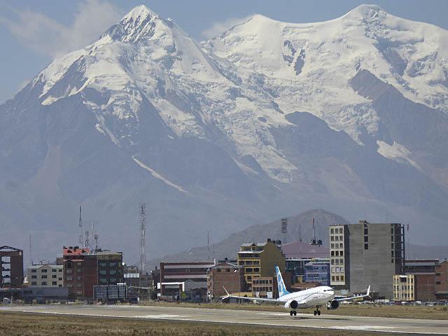 Aéroport El Alto à La Paz, Bolivie