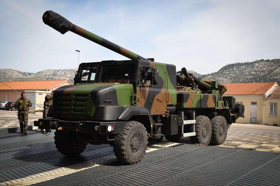 Le CAESAR (Crédit photo: ministère de la défense)