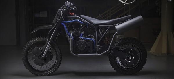 La moto Nightmare, futur destrier silencieux des forces spéciales américaines (voire étrangères) ? (Crédit: LSA Autonomy)