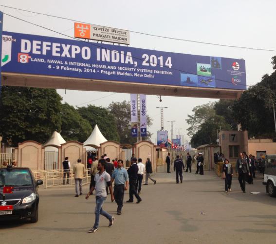 Le salon Defexpo a ouvert ses portes ce matin (Crédits: G Belan)