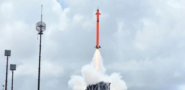 Système de défense aérienne/anti-missile Barak-8 co-développé par l'Inde et IAI qui fait gonfler les chiffres des exportations israéliennes (crédits : IAI)