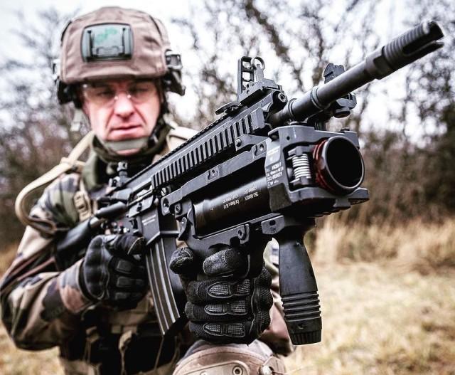 D'ici 2028, l'armée de Terre aura plus de 93 000 HK416F en dotation... dont il faudra assurer le MCO (Crédit photo: CCH Guillaume C/armée de Terre)