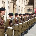 """Petite mais ambitieuse, l'armée luxembourgeoise veut faire """"plus"""" au sein de l'OTAN (Crédit photo: Section audio-visuelle de l'armée luxembourgeoise)"""