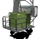 Le simulateur conçu par XPI pour le programme AJAX (Crédit photo: Thales)