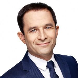Benoît Hamon, candidat du Parti Socialiste à l'élection présidentielle 2017